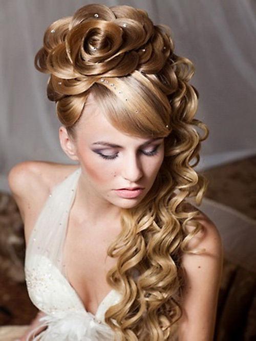 بالصور صور تسريحات شعر عرايس , تسريحات متنوعة ليوم زفافك 799 9