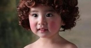 قصات شعر دائري للاطفال , اجمل قصات الشعر الدائرية
