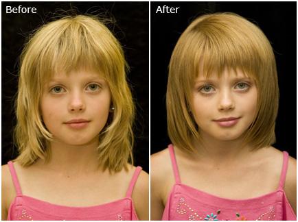 بالصور قصات شعر دائري للاطفال , اجمل قصات الشعر الدائرية 803 9