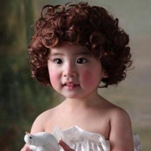 صوره قصات شعر دائري للاطفال , اجمل قصات الشعر الدائرية
