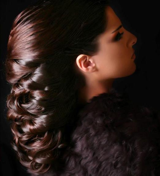 بالصور تسريحات هاديه وناعمه للشعر الطويل , احلي صور لموديلات الشعر الطويل 806 2