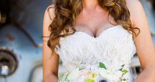 صوره تسريحات ويفي للعرايس , اجدد لوكات العرائس فى 2019