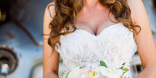 صوره تسريحات ويفي للعرايس , اجدد لوكات العرائس فى 2018