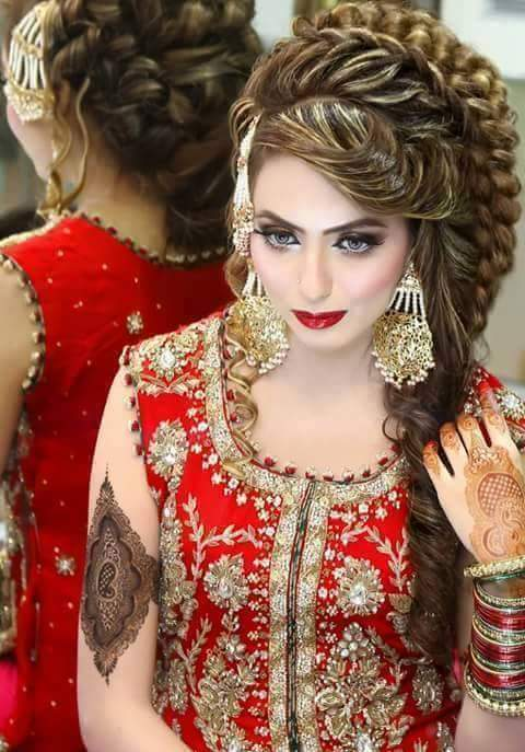 بالصور تسريحات عرايس هنديه , اجمل تسريحات الهنديات ليلة العرس 820 1