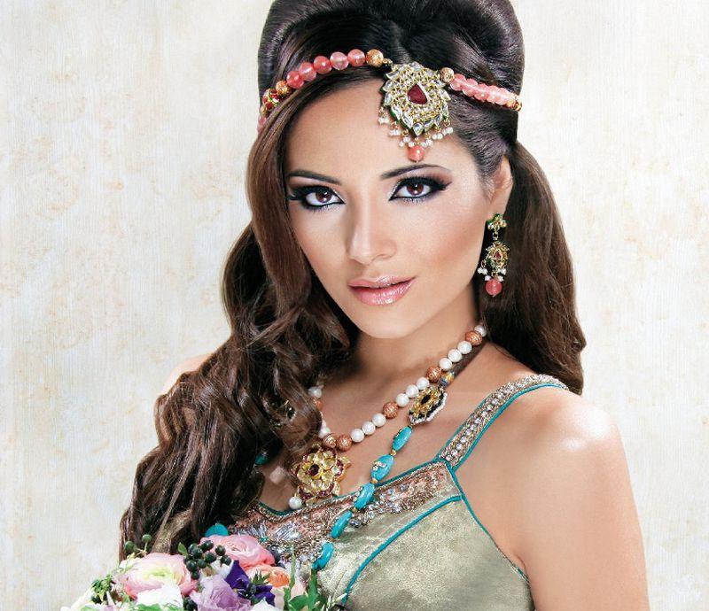 بالصور تسريحات عرايس هنديه , اجمل تسريحات الهنديات ليلة العرس 820 3