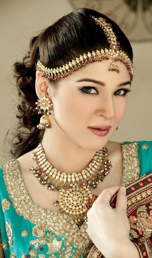 بالصور تسريحات عرايس هنديه , اجمل تسريحات الهنديات ليلة العرس 820 8
