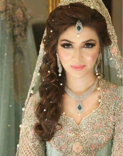 صورة تسريحات عرايس هنديه , اجمل تسريحات الهنديات ليلة العرس