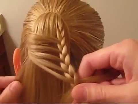 صورة تسريحات شعر بناتي , تسريحات سهلة و بسيطة للبنات