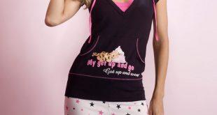 صور بيجامات بنات , ملابس للبيت للفتيات