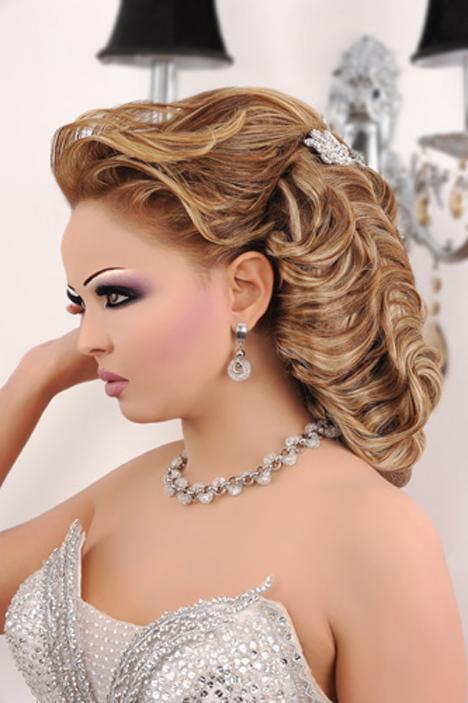بالصور صور تسريحة العروس , فورمات الشعر روعة 1016 6