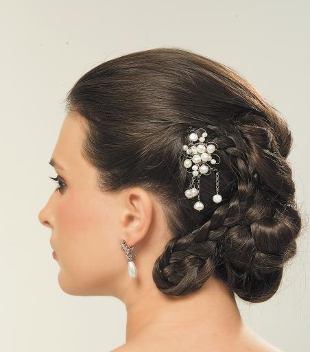 بالصور صور تسريحة العروس , فورمات الشعر روعة