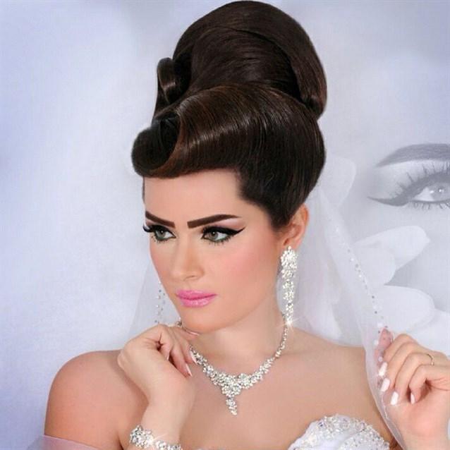 صوره صور تسريحة العروس , فورمات الشعر روعة