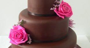 صورة تورتة شوكولاته , صور تورتة اعياد ميلاد بالشيكولاتة