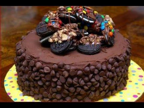بالصور صورة تورتة شوكولاته , صور تورتة اعياد ميلاد بالشيكولاتة 1049 2