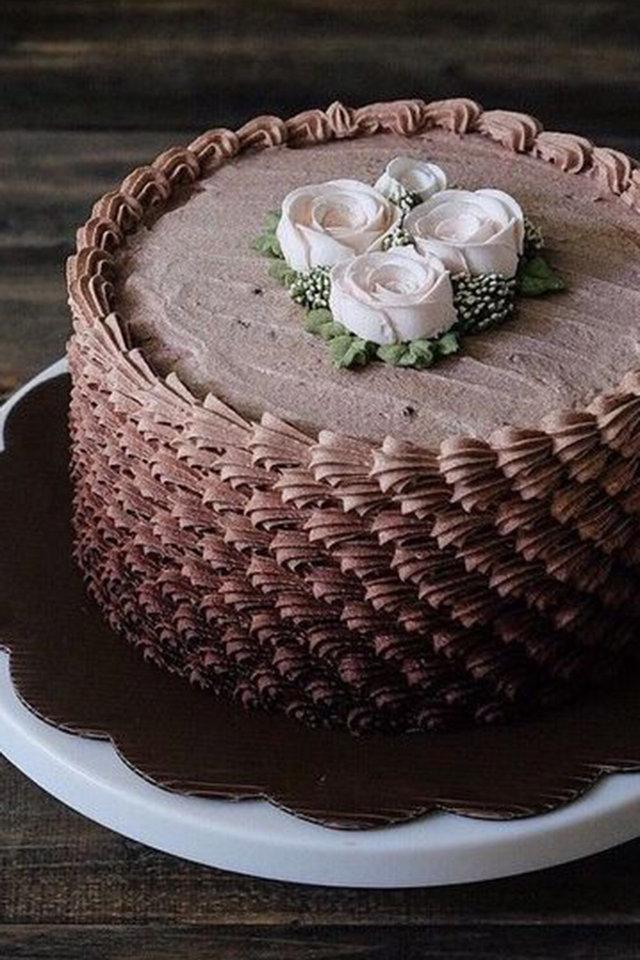 بالصور صورة تورتة شوكولاته , صور تورتة اعياد ميلاد بالشيكولاتة 1049 7