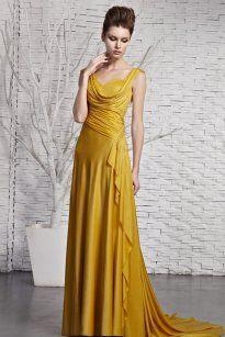 بالصور فساتين باللون الاصفر , فساتين مبهرة لونها اصفر 1157 5