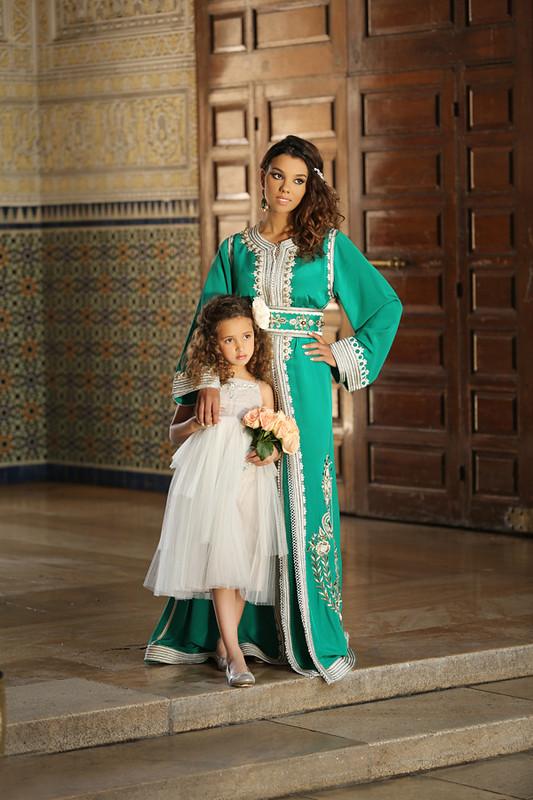 صورة ملابس تقليدية للعيد , اجمل اشكال اللباس التقليدى