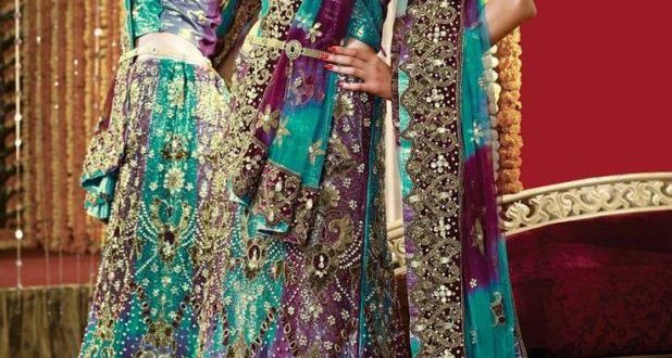 بالصور ازياء هندية للاعراس , اجمل اطلالات العرائس فى الهند 1170 10 618x330