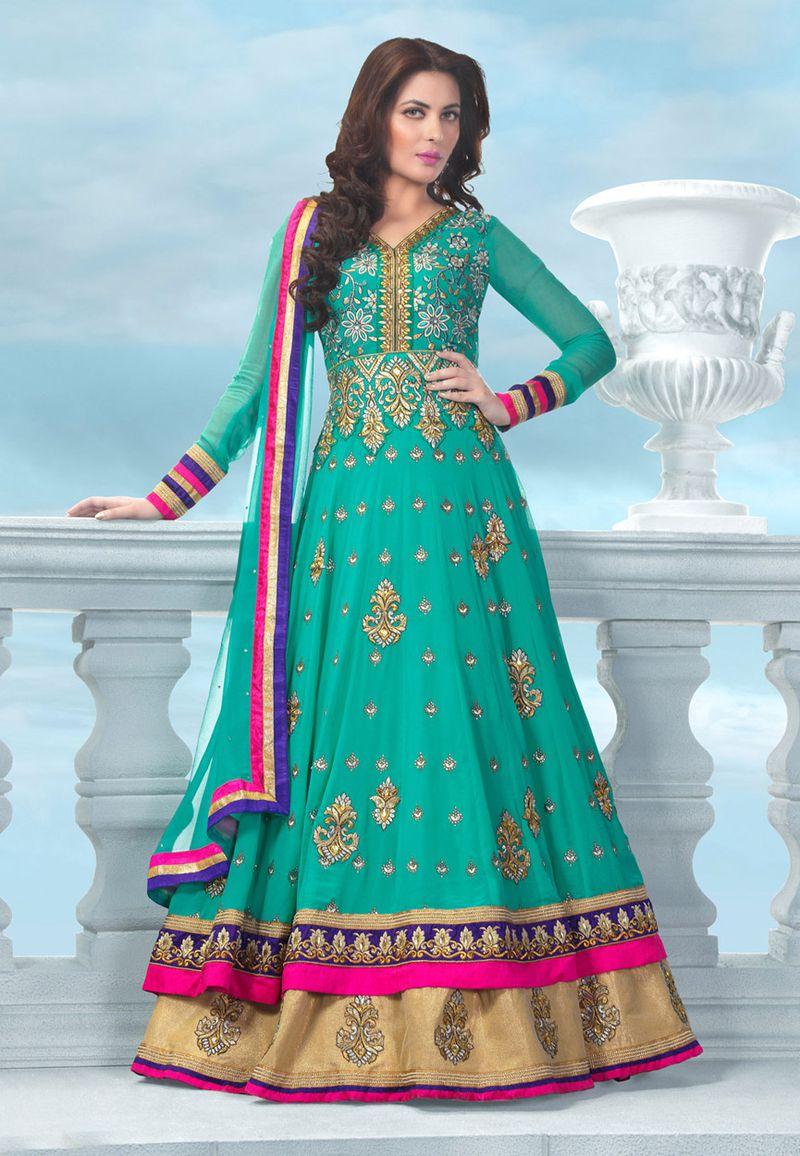 بالصور ازياء هندية للاعراس , اجمل اطلالات العرائس فى الهند 1170 6