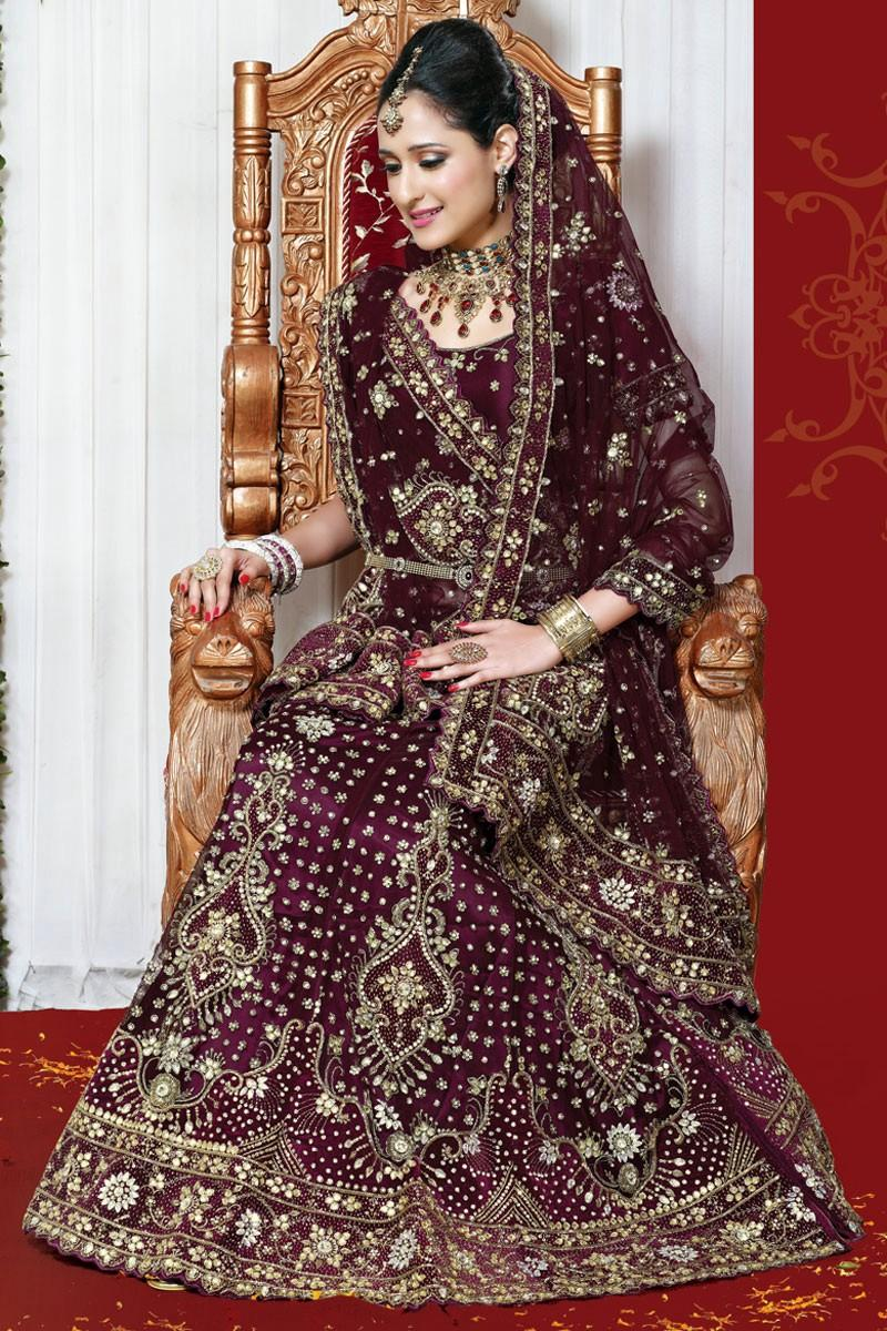 بالصور ازياء هندية للاعراس , اجمل اطلالات العرائس فى الهند 1170 9