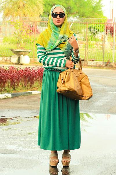 بالصور فساتين محجبات مراهقات , فساتين للمراهقات تناسب الحجاب 1172 8