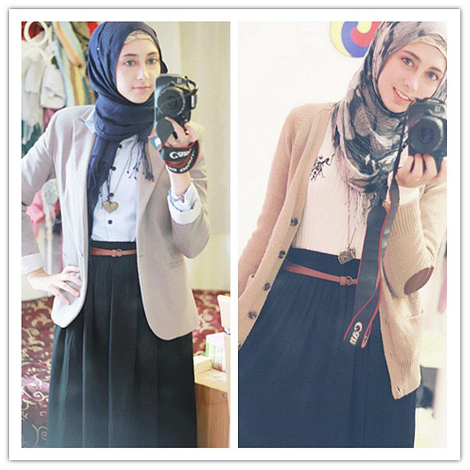 صورة فساتين محجبات مراهقات , فساتين للمراهقات تناسب الحجاب