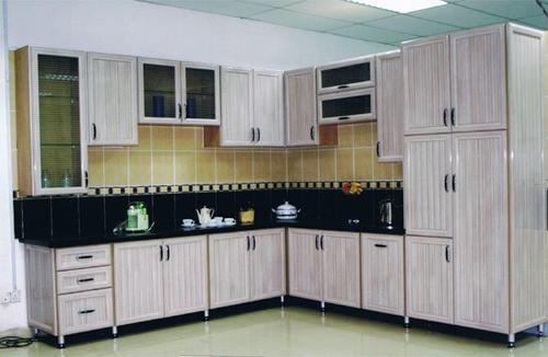 صوره ديكورات خزائن مطبخ المنيوم , اشكال متنوعة للمطابخ الالمونيوم