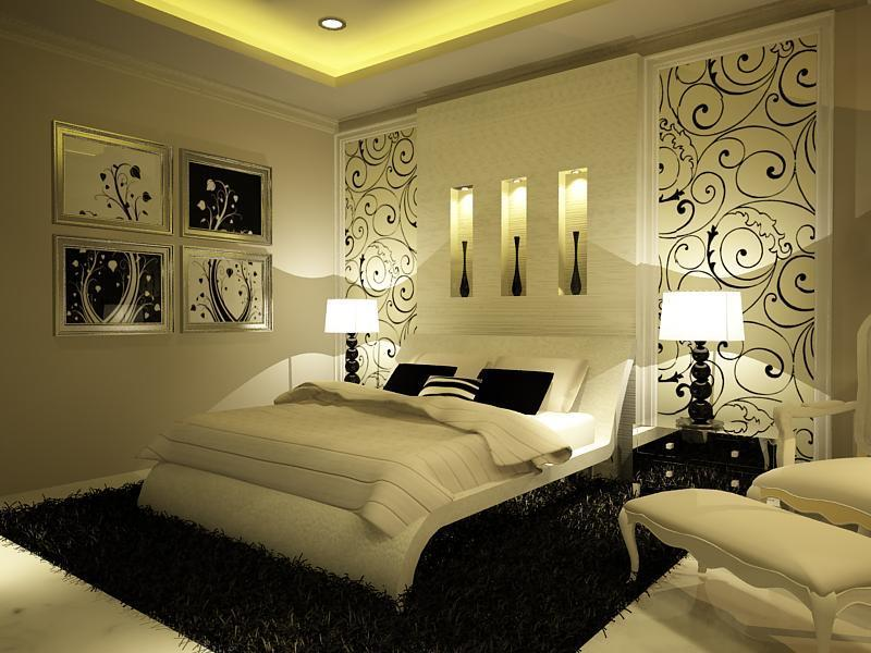 صور اجمل ديكورات غرف النوم الحديثة , غرف نوم مودرن روعة