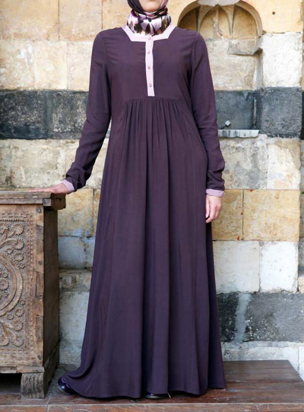 بالصور عبايات سوداء كاجوال , عبايات بلون اسود عملية جدا و على الموضة 1288 9