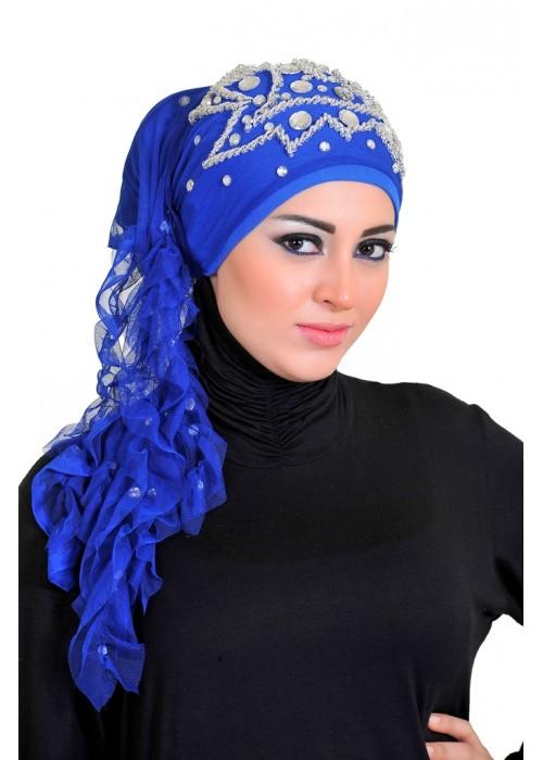 بالصور احدث موديلات لفات الطرح 2019 , لفات حجاب جديدة و مميزة 1303 2