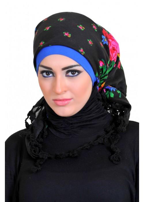 بالصور احدث موديلات لفات الطرح 2019 , لفات حجاب جديدة و مميزة 1303 5