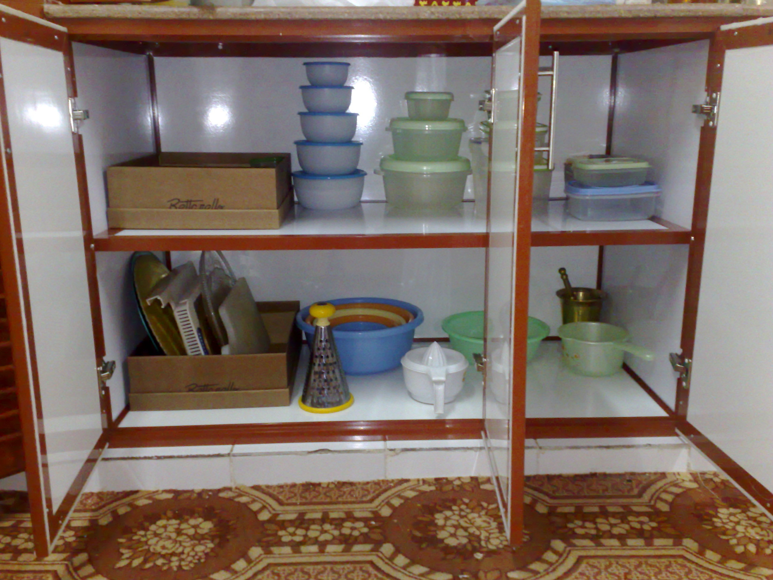 How To Organize Under Kitchen Sink