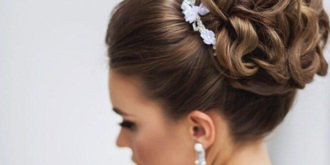 صورة تسريحات الشعر للعروس 2020 , تعالى و اقولك ازاى تبقى ملكة فى احلى ليالى العمر