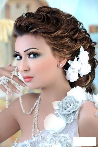 بالصور تسريحات الشعر للعروس 2019 , تعالى و اقولك ازاى تبقى ملكة فى احلى ليالى العمر 1428 2