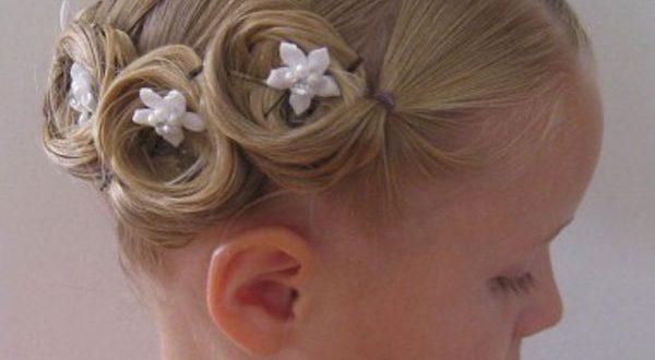 بالصور تسريحات شعر بسيطة بالخطوات والصور للاطفال , دلعى بنوتك بالضفاير و الفيونكات 1431 8 600x330