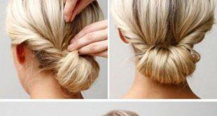 صور تسريحات شعر سهلة و بسيطة , يلا بنات حنعمل نيولوك لشعرنا
