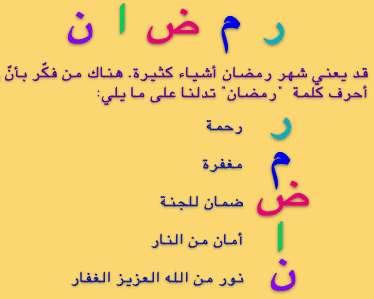 صور كلمات عن رمضان , حجات و مواقف مش موجوده غير فى شهر البركة