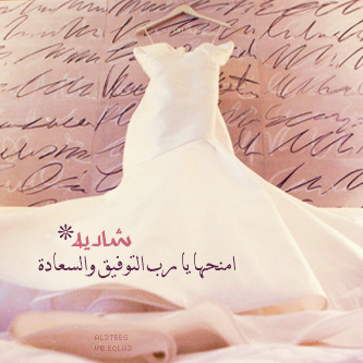 بالصور صور فستان عروس مكتوب عليه , امنيات و كلمات راقية بمناسبة الزفاف 1580 2