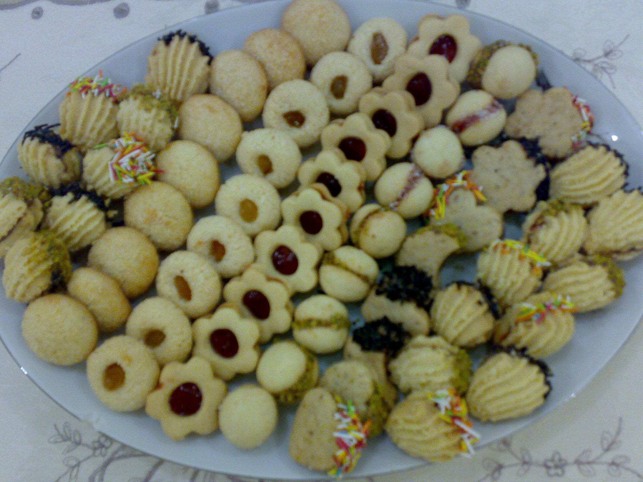 بالصور صور حلويات العيد , كحك و بسكوت عشان تفرحى اطفالك 1583 8