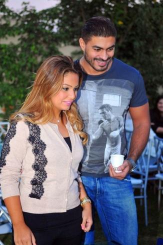بالصور صور خالد سليم وزوجته , شوفوا مراته اللى زى القمر 1608 5