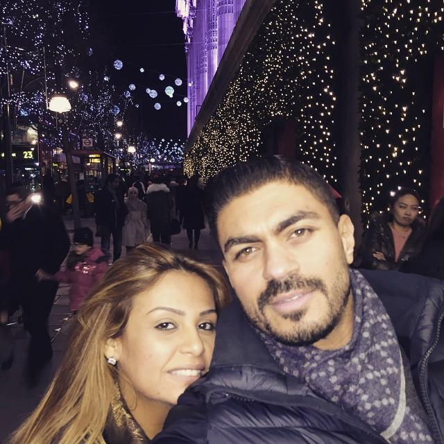 بالصور صور خالد سليم وزوجته , شوفوا مراته اللى زى القمر 1608 6