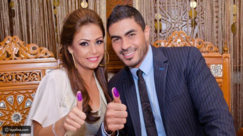 صورة صور خالد سليم وزوجته , شوفوا مراته اللى زى القمر