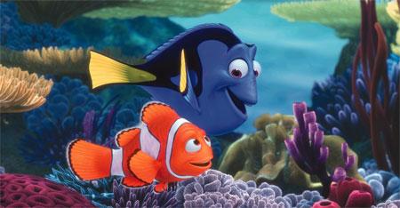 بالصور صور كرتون نيمو , سمكة البهلوان الصغيرة و الشقية جدا 1630 2