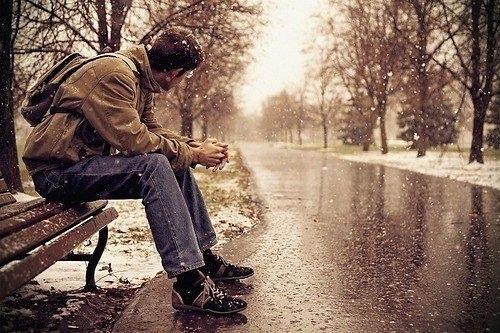 بالصور صور شباب حزينه , احساس الوحدة يؤلم صاحبه 1645 2