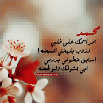 بالصور صورة مكتوب علية محمد حبيبي , بالصور محمد ياحبيبي 1727 2