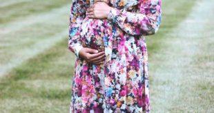 ملابس حوامل محجبات في مصر , ازياء محتشمة للحامل
