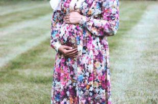 صوره ملابس حوامل محجبات في مصر , ازياء محتشمة للحامل
