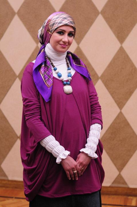 بالصور ملابس حوامل محجبات في مصر , ازياء محتشمة للحامل 954 3