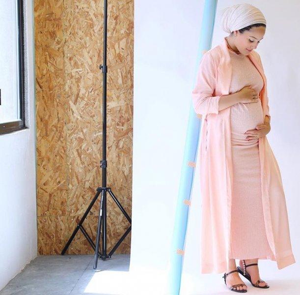 بالصور ملابس حوامل محجبات في مصر , ازياء محتشمة للحامل 954 7