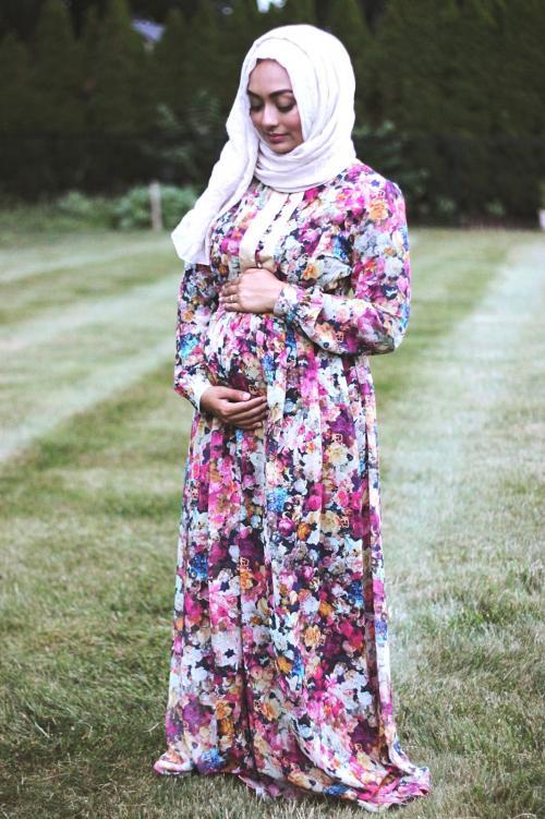 بالصور ملابس حوامل محجبات في مصر , ازياء محتشمة للحامل 954